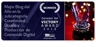 Premio Mejor blog del año